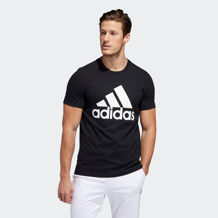 Adidas Badge Of Sport Graphic Tee - Black, size S