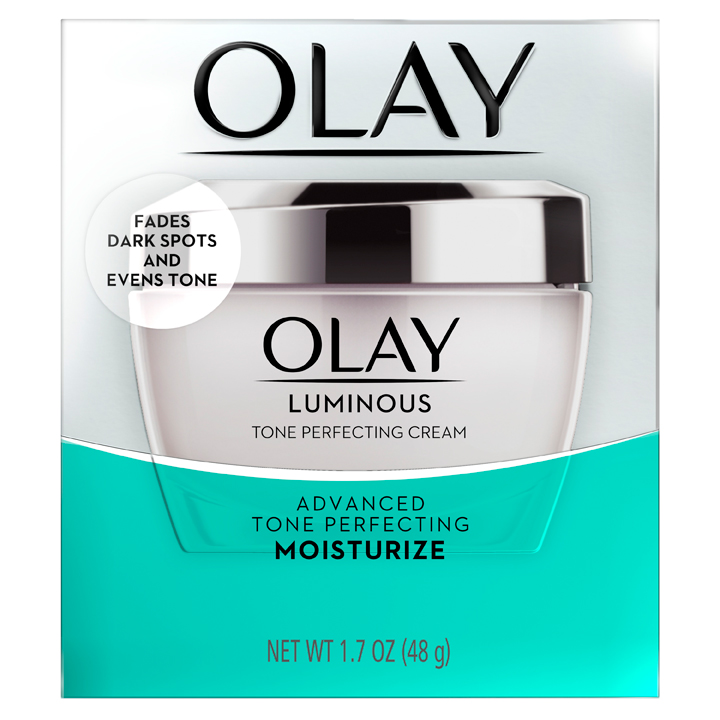 Olay Luminous Tone Perfecting Face Moisturizer, 48g