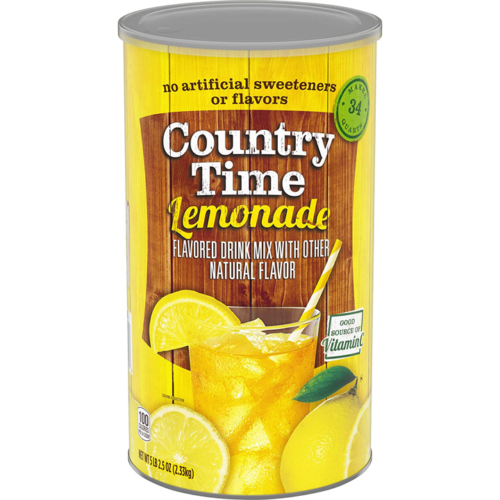 Bột pha nước chanh Country Time Lemonade Drink Mix, 2.54kg