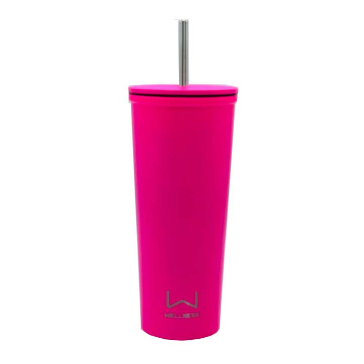 Ly giữ nhiệt Wellness Double Wall Stainless Steel - Pink, 710ml