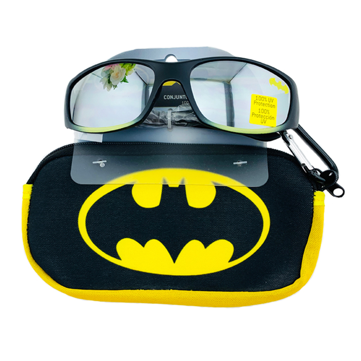 Kính mát Pan Oceanic DC Comics Batman, Black/ Yellow
