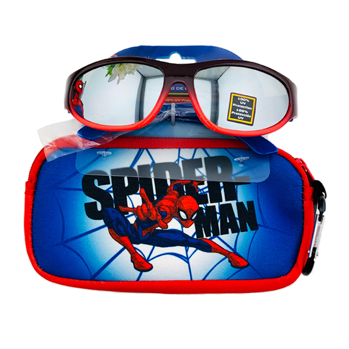 Kính mát Pan Oceanic Marvel Spiderman, Blue Case